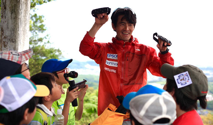 THE NORTH FACE KIDS NATURE SCHOOL 鏑木毅さん