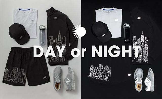 new balanceの新ラインナップ「DAY or NIGHT Collection」