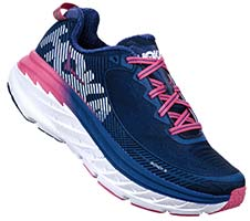 HOKA ONE ONE BONDI 5(Charcoal Gray,True Blue)