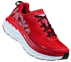 HOKA ONE ONE BONDI 5(High Risk Red,Haute Red)
