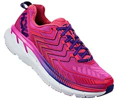 HOKA ONE ONE CLIFTON 4(Fuchsia,Hot Pink)