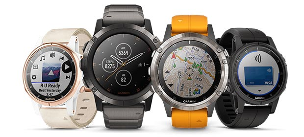 GARMIN「fenix 5 Plus Series」
